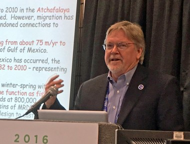 Louisiana Sea Grant Executive Director Robert Twilley, at an ocean sciences conference in New Orleans in 2016.