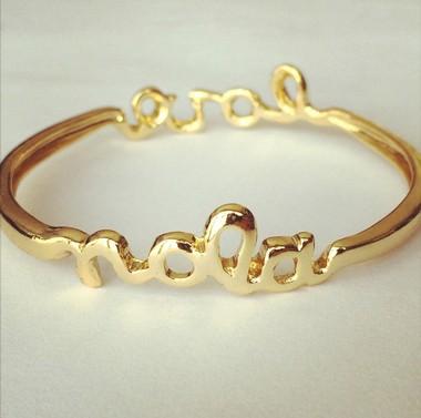 A NOLA bracelet by Sarah Ott.