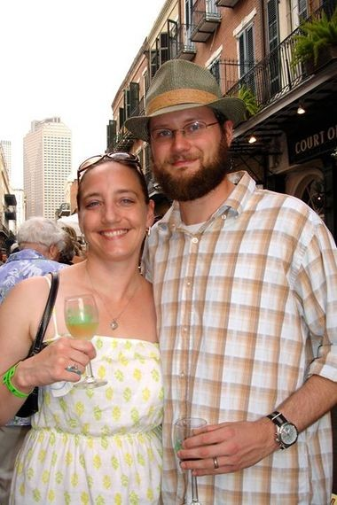 Addie K. and Jeremy Martin, New Orleans authors and bloggers.