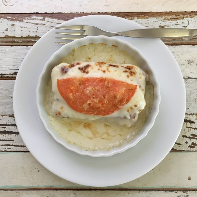 A Hot Brown, which is a typical dish served at Kentucky Derby parties, is an open-faced turkey and bacon sandwich, topped with Mornay sauce, a Bechamel sauce with shredded cheese. (Photo by David Grunfeld, NOLA.com   The Times-Picayune)