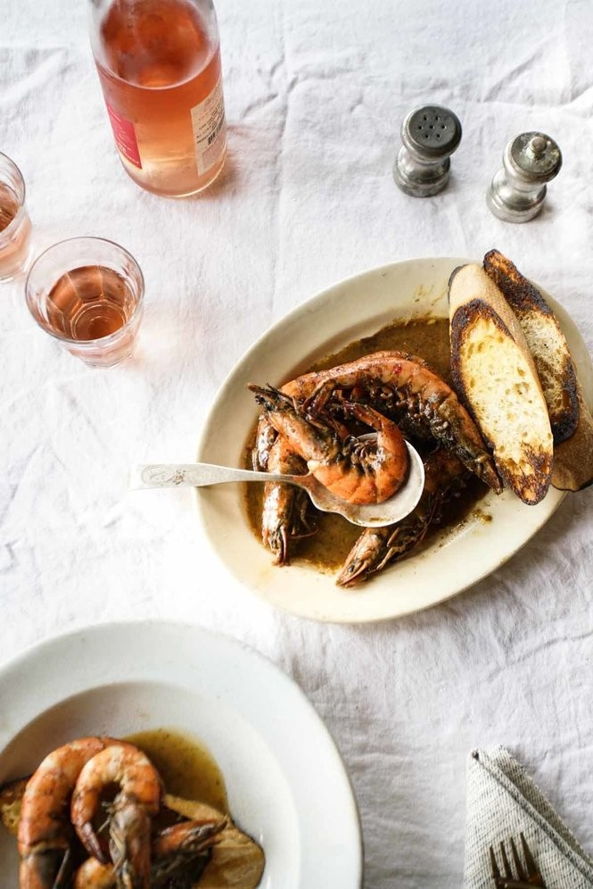 Barbecue Shrimp from 'New Orleans Food: More than 250 of the City's Best Recipes to Cook at Home' (Feb. 20, 2018, Abrams, N.Y., $26.99) (Photo by Rinne Allen)