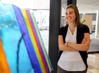 Jennifer Medbery, founder of Kickboard, a company that provides an education data tracking service and recently announced that it has attracted $2 million in investments. Shot on Tuesday, April 9, 2013. (Photo by Michael DeMocker, Nola.com   The Times-Picayune)
