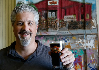 Kirk Coco, president of NOLA Brewing, is seen at the company's 3001 Tchoupitoulas Street location in New Orleans Monday, May 6, 2013. (Photo by Dinah Rogers, NOLA.com / The Times-Picayune)