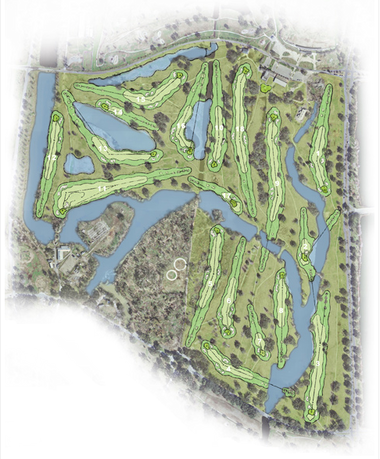 City Park's new $13.2 million championship golf course is being constructed along the footprint of the old East and West courses at City Park.