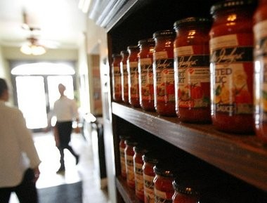 Switch from regular pasta sauce (470 mg per half cup) to Sal & Judy's Heart Smart Italian Sauce (250 mg).