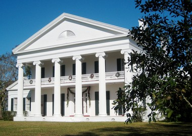 A National Historic Landmark, Madewood Plantation House, built circa 1846, was designed by architect Henry Howard. It is a former sugarcane plantation house on the Bayou Lafourche south of Napoleonville, La.