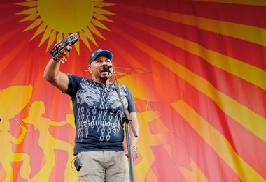 At the 2013 New Orleans Jazz Fest, Aaron Neville will front his own quintet at the Gentilly Stage on the final Sunday.