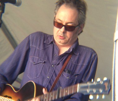 Songwriter Kevin Gordon weaves tales on Saturday, May 4, 2013, at the New Orleans Jazz Fest.