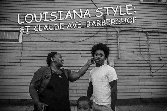 03ba286ba Louisiana Style: A day at St. Claude Avenue barbershop and salon ...