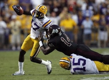 Former LSU cornerback Morris Claiborne parlayed a strong junior season into being picked No. 6 in the 2012 NFL Draft.