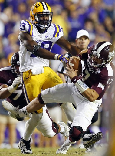 Former NFL scout and NFL Network analyst Daniel Jeremiah said it's not out of the realm of possibility that LSU defensive end Barkevious Mingo could fall to the New Orleans Saints in this year's NFL draft.