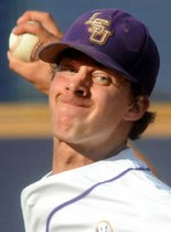 LSU pitcher Aaron Nola learned a spot on both the NCBWA and Baseball America All-American teams on Wednesday.