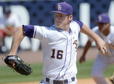 LSU pitcher Jared Poche is back after putting up a 9-3 record as a freshman in 2014.