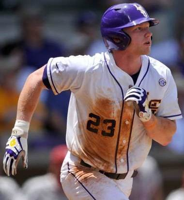 LSU OF Jake Fraley: 'What I learned this summer is that it's all about making adjustments. Playing in the SEC is a lot more like pro ball -- you have earn from the mistakes you make against a pitcher or the way a team is pitching to you and find a way to beat them.'