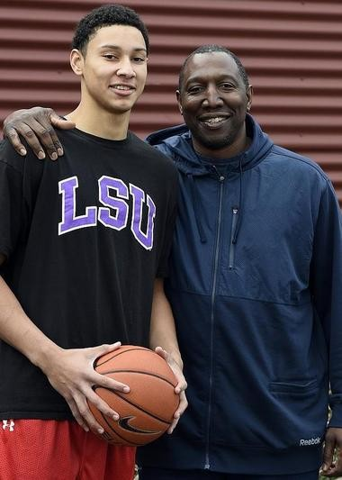 Ben Simmons was coached most of his youth by his father, Dave Simmons, a New York native who went to Australia to play pro basketball and found a new life in the late 1980s.