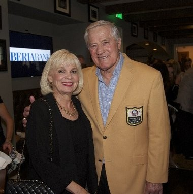 "Helen and Jim Taylor attend the opening reception of ""Lombardi"" at Le Petit Theatre in New Orleans on Friday, September 6th, 2013."