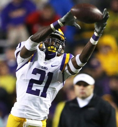 LSU cornerback Rashard Robinson joins Tre'Davious White as big-play makers in the secondary.