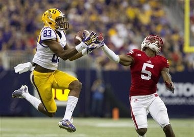 LSU receiver Travin Dural was the Tigers' most consistent threat last season.