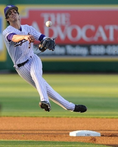 LSU's Kramer Robertson has played second base almost exclusively in his first two seasons, but will be in the mix at shortstop and maybe even third base during fall practice.