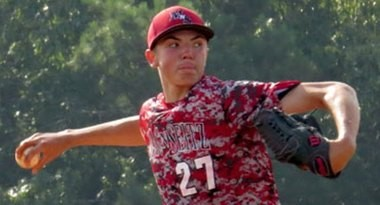 Riley Pint exploded onto the national scene this summer with a breakout performance at the WWBA 17-and-under National Championship.