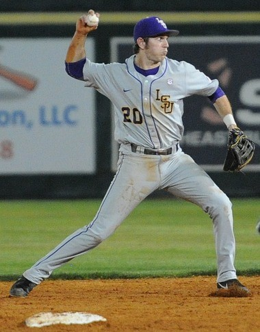LSU's Conner Hale could wind up playing three of the four infield positions this season.