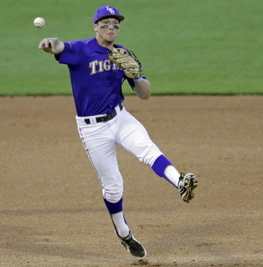 Even when he struggled at the plate last season, LSU shortstop Alex Bregman was stellar in the field.