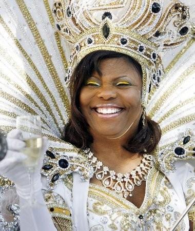 Sheila Mathieu was Queen Zulu in 2009.