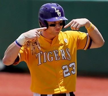 LSU sophomore Jake Fraley is a leader in a different way on a team full of veterans.
