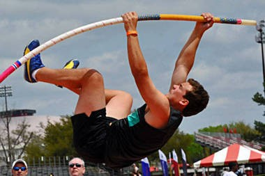 Former LSU pole vaulter Andreas Duplantis followed in his parents' footsteps as a star in track and field.