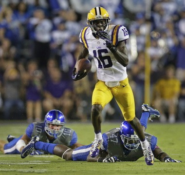 LSU's Tre'Davious White has also shown flashes of being a dangerous weapon as a punt returner.