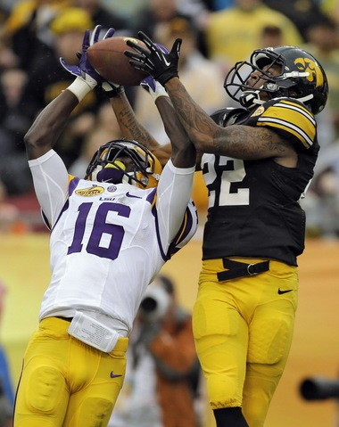 In two seasons, the LSU cornerback has 4 interceptions and 13 pass breakups.
