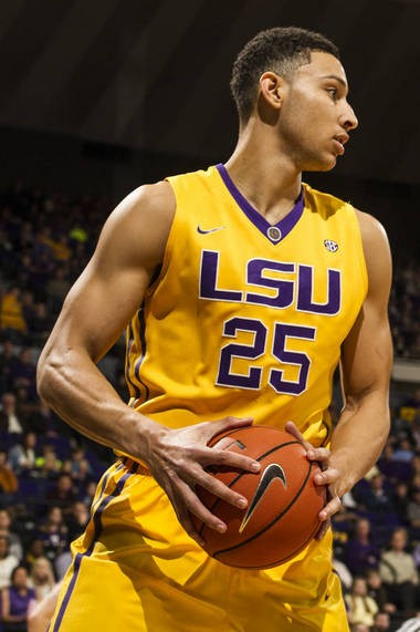 Ben Simmons is leading all college freshmen in scoring, rebounding and assists.