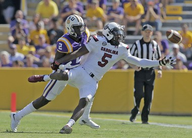 LSU cornerback Kevin Toliver (2) will start at one cornerback spot for the Tigers in 2016.