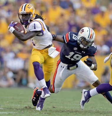 LSU defensive back Donte Jackson (1) will have a big chance to make an impact on the field this season.