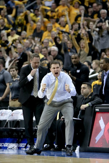 Former VCU coach Will Wade agreed to become LSU's next men's basketball coach on Monday night. (AP Photo/Keith Srakocic)