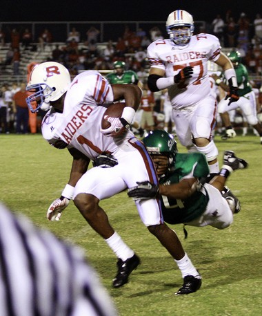 Cyril Grayson had 731 yards receiving on 28 catches with eight touchdowns as a senior as Rummel in 2011.