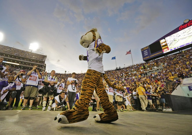 LSU is 13-4 against ranked opponents at Tiger Stadium since 2010. (Photo by Chris Granger, Nola.com | The Times-Picayune)