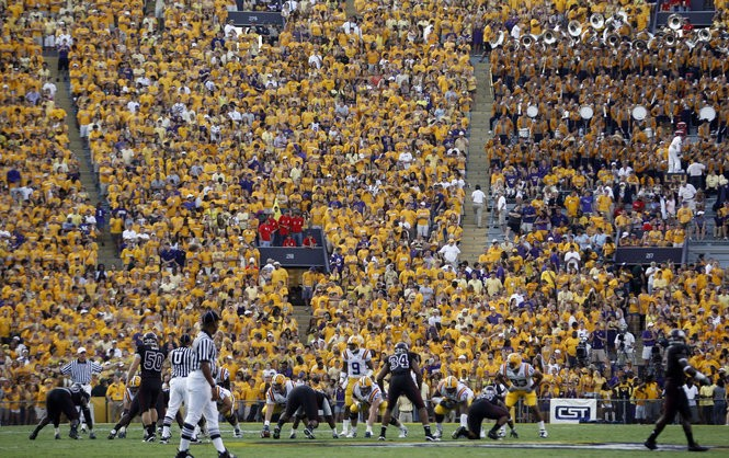 LSU expects a sellout crowd of more than 100,000 fans at Tiger Stadium for Saturday's game against No. 2 Georgia.