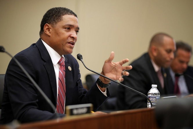 U.S. Rep. Cedric Richmond, D-New Orleans, speaks during a committee hearing on Capitol Hill in Washington on Sept. 21, 2016. (Photo by Chip Somodevilla, Getty Images)