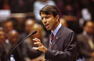 Governor Bobby Jindal's administration reversed course on a plan to eliminate Medicaid-funded hospice care in Louisiana. In this photo, Jindal speaks to the combined House and Senate in Baton Rouge during the 2011 legislative session.