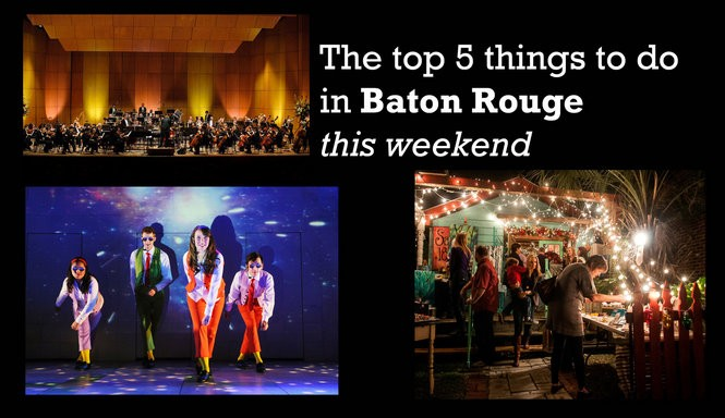 Top 5 Things To Do In Baton Rouge This Weekend Include White Light