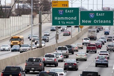 U.S. Census Bureau data from the 2013 American Community Survey say the average work commute in East Baton Rouge Parish is 24 minutes long. Traffic was listed as a factor driving residents away from the parish. (Photo by Brianna Paciorka, NOLA.com | The Times-Picayune)