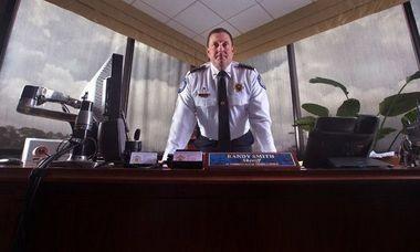 St. Tammany Parish Sheriff Randy Smith at his office near Slidell
