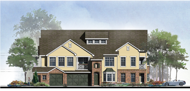 "Example of ""Big House"" design concept, which will be utilized in a 272-unit development under construction near Covington."
