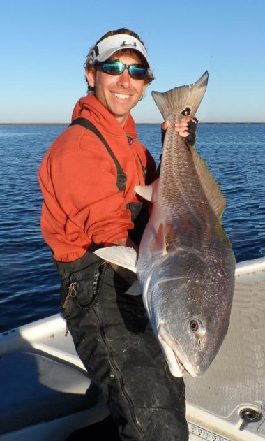 Capt. Markham Dickson said this bull-redfish season in Breton Sound has been one for the record books.