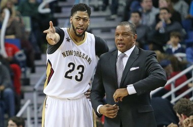 "New Orleans Pelicans forward Anthony Davis: ""I like our team we have now. We always are just kind of injured. It's tough to win games when a lot of the top guys are out."""