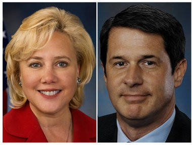 Mary Landrieu, left, and David Vitter were Louisiana's two U.S. senators when Katrina struck.