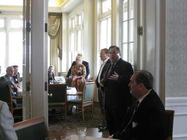 Plaquemines Parish President Billy Nungesser announces he will run for Lt. Gov. of Louisiana in 2015 at a fundraising event Thursday, Feb. 28, 2013 in Baton Rouge.