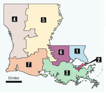 Louisiana's Congressional Districts