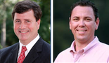 State Sen. Neil Riser, R-Columbia, and Monroe businessman Vance McAllister will advance to a runoff election for Louisiana's 5th Congressional District race on Nov. 16.
